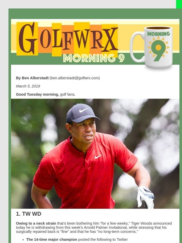 a256fcf7 Ishikawa: TW WDs from Bay Hill | Opinion: Tour pros' Rules whining is a bad  look|