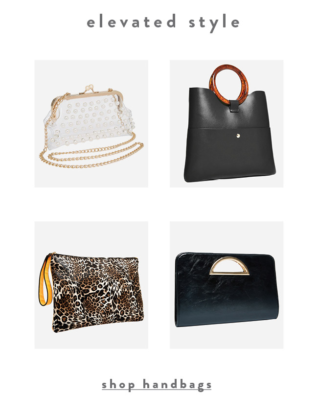Elevated styles - Shop Handbags
