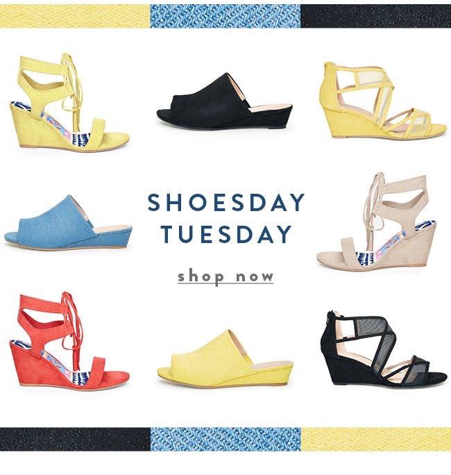 Shoesday Tuesday - Shop Now