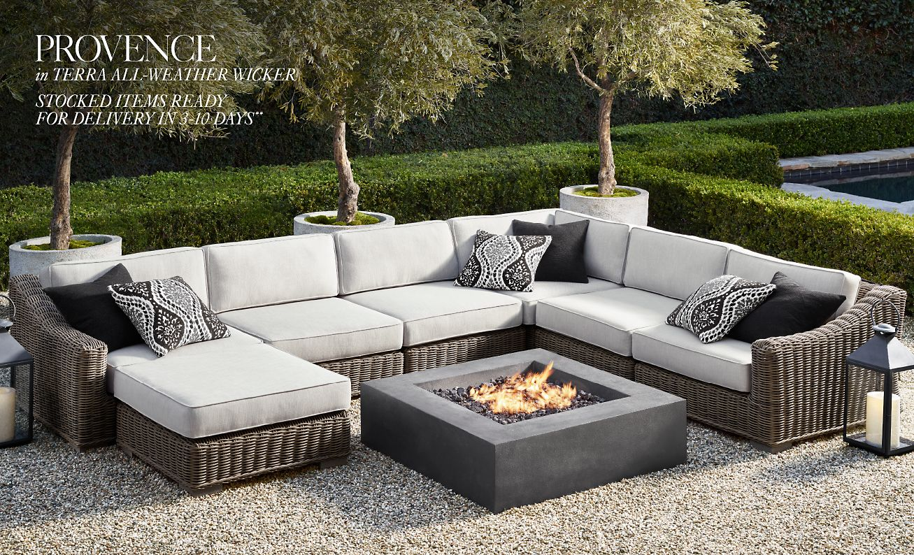Prime Restoration Hardware The Provence Outdoor Collection Now Download Free Architecture Designs Scobabritishbridgeorg