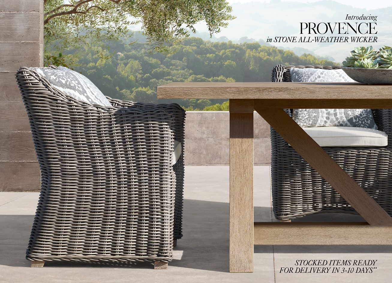 Amazing Restoration Hardware The Provence Outdoor Collection Now Download Free Architecture Designs Scobabritishbridgeorg