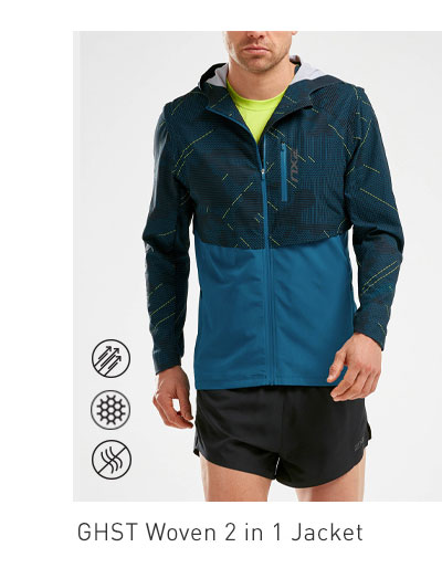 Men's GHST Woven 2 in 1 Jacket
