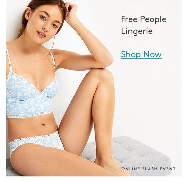Free People Lingerie | Shop Now | Online Flash Event