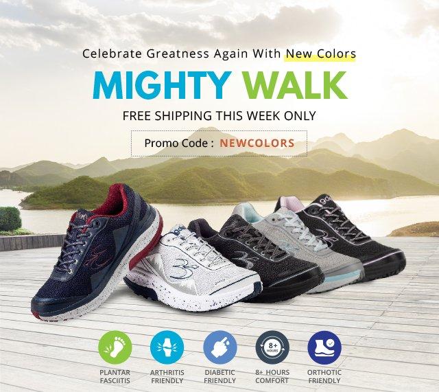 Gravity Defyer: 🎉 The Mighty Walk Got