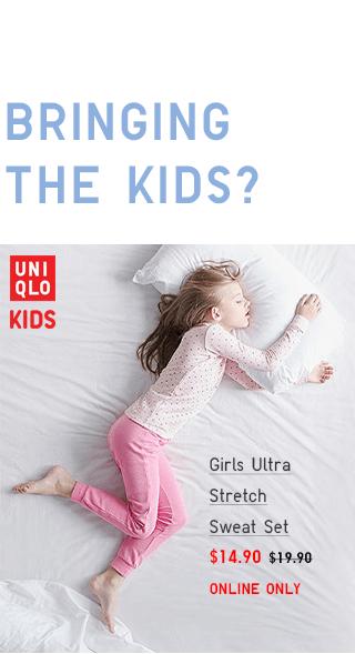 GIRLS ULTRA STRETCH SWEAT SET $9.90