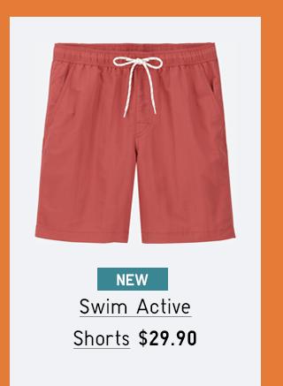 SWIM ACTIVE SHORTS $29.90