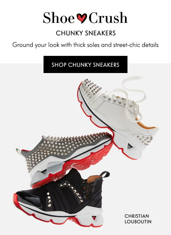Shop Chunky Sneakers