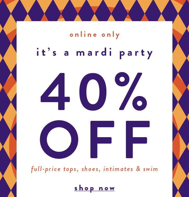 It's a Mardi Party - Shop Now