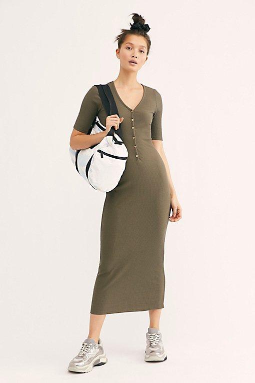 Lulu Henley Midi Dress