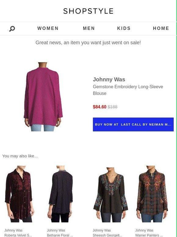 610c52a7ad937 ShopStyle  Sale Alert  Johnny Was