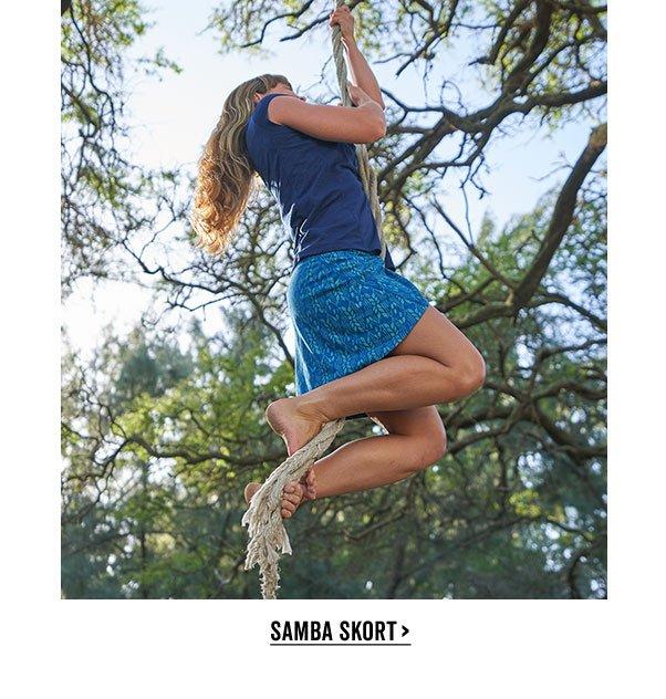 Shop The Samba Skort >