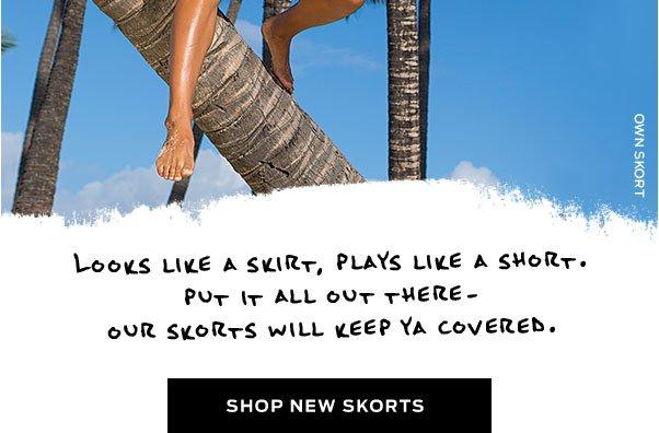 Shop New Skorts >