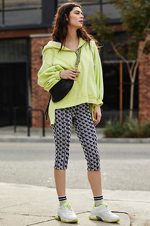 High-Rise Cropped Get Into The Groove Legging