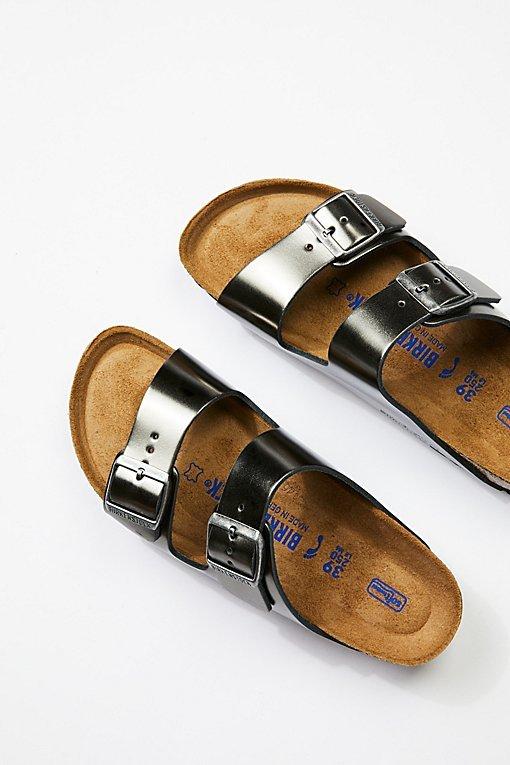 Arizona Metallic Birkenstock Sandal