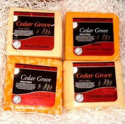 Wisconsin Quality Cheese 4 Pack - Cedar Grove Cheese - WisconsinMade Artisan Collective