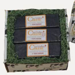 Wisconsin Aged Cheddar Cheese Gift Box Carr Valley Cheese on WisconsinMade Artisan Collective
