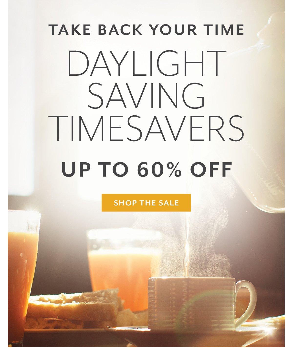 Daylight Saving Timesavers