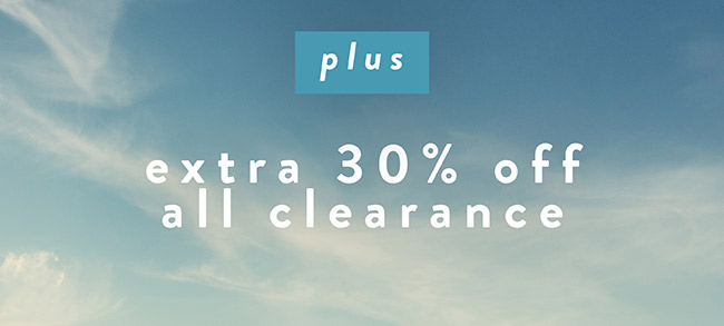 Plus Extra 30% off all clearance - Shop Now