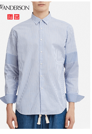 MEN EXTRA FINE COTTON BROADCLOTH LONG-SLEEVE SHIRT $29.90
