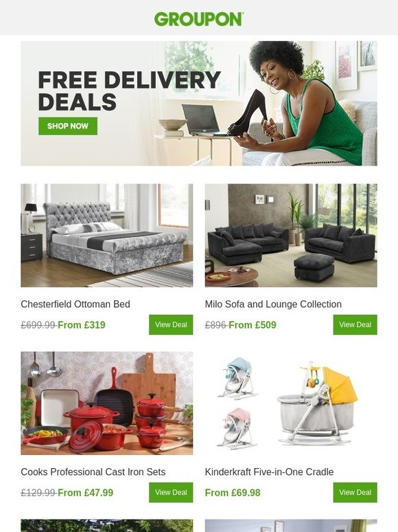 Incredible Groupon Uk Delivered To You For Free Milled Lamtechconsult Wood Chair Design Ideas Lamtechconsultcom