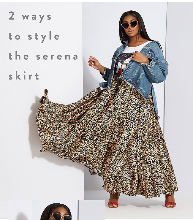 Two ways to style the serena skirt - Shop Now