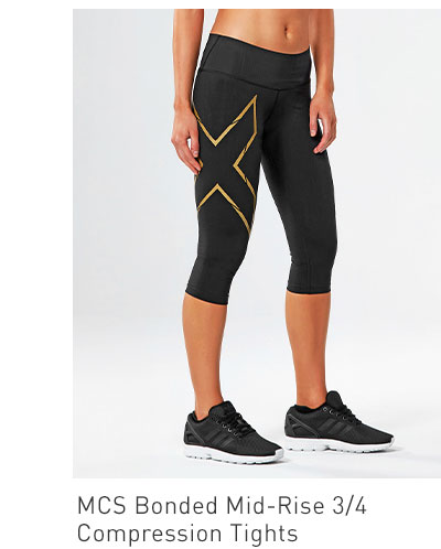 Women's MCS Bonded Mid-Rise 3/4 Compression Tights