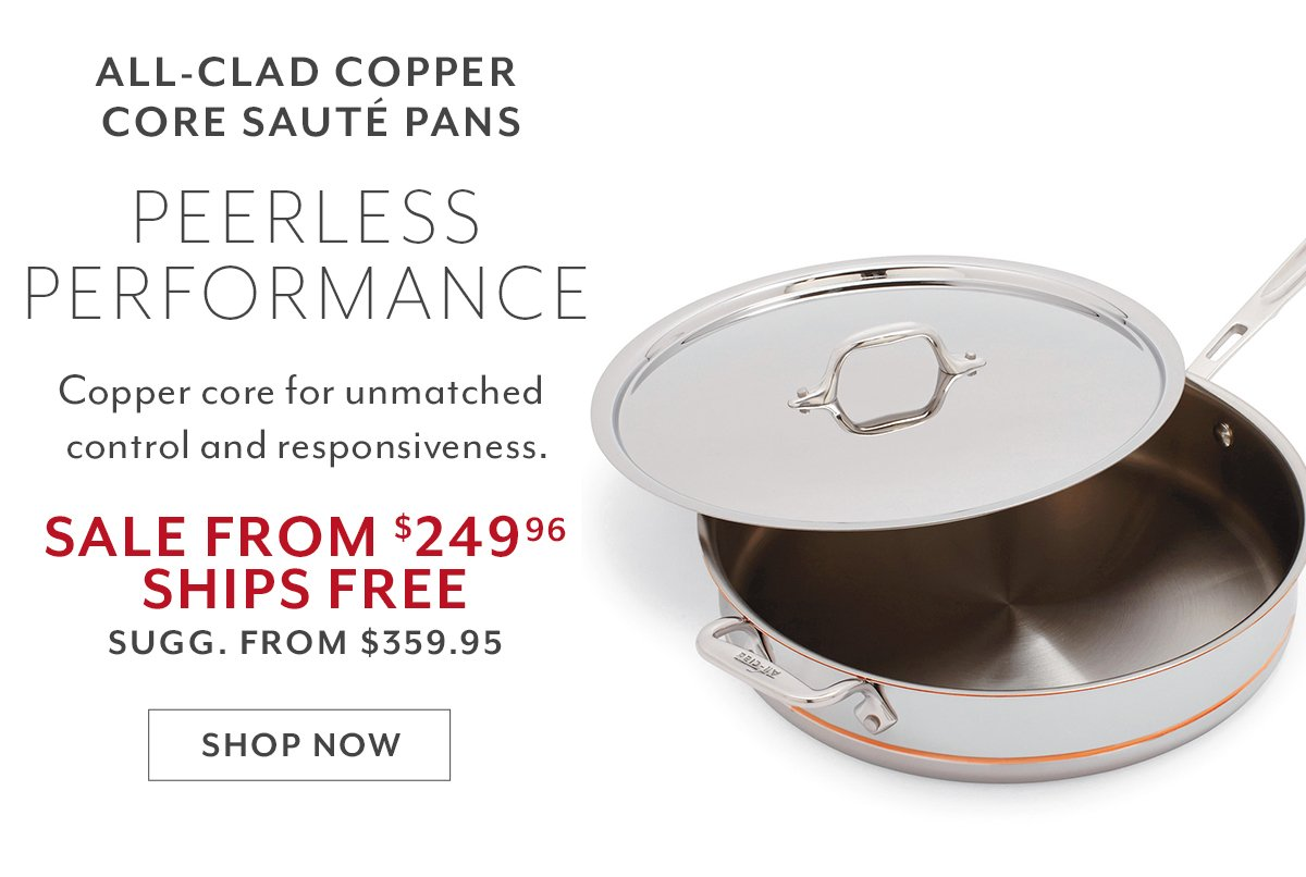 Copper-Core Pans