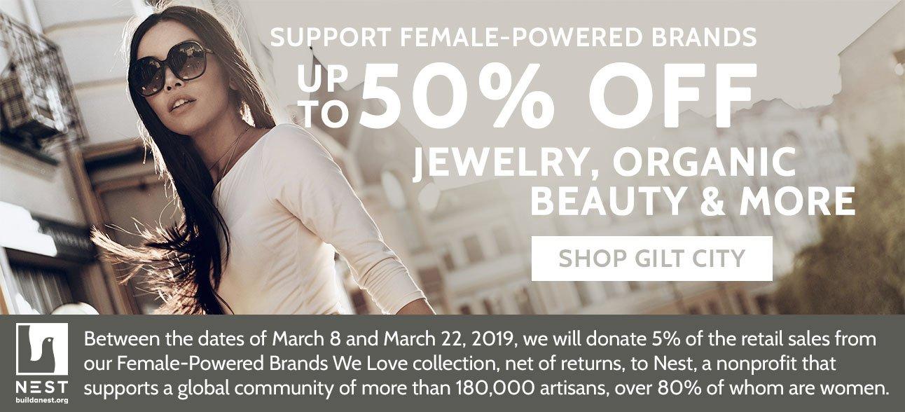 Shop Female-Powered Fashion for International Women's Day!