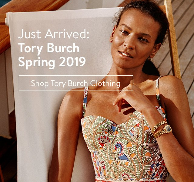 Just arrived: Tory Burch Spring 2019.