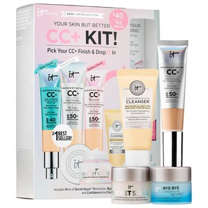 IT Cosmetics - Your Skin But Better CC+ Kit! Pick Your CC+ & Drop IT In