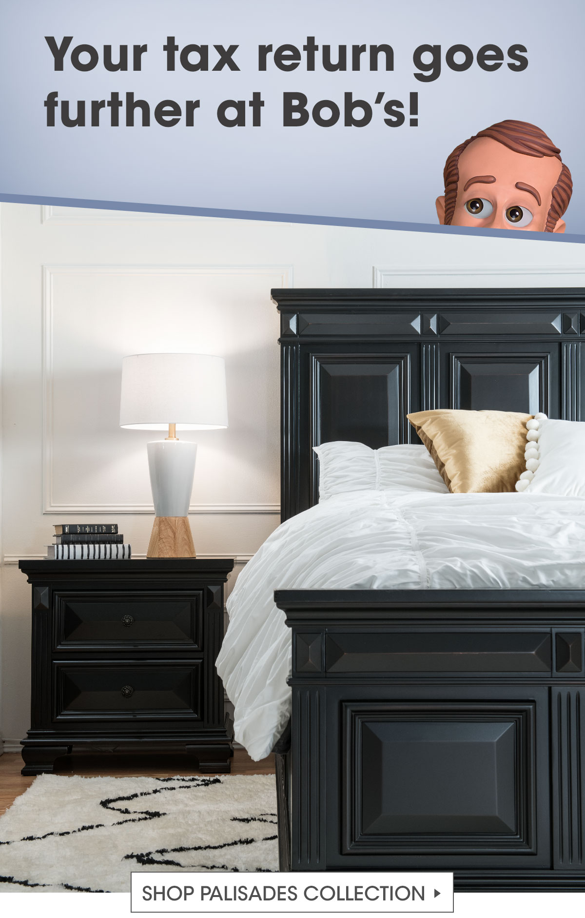 Bobs Discount Furniture Introducing My Brand New Palisades Bedroom Set Milled