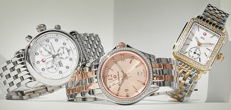 Women's Diamond Watches With Michele