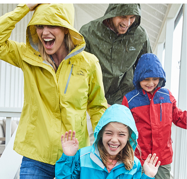 Redesigned Tougher. Our new Trail Model Rainwear is redesigned and tougher than ever, so getting outside together is easier ? no matter the forecast.