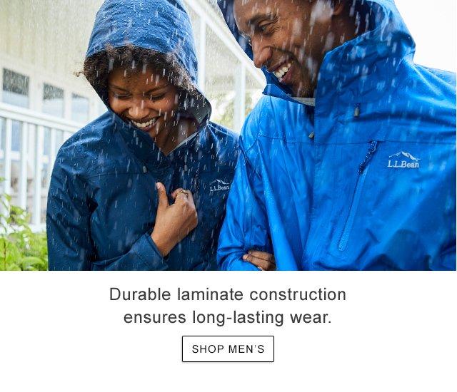 Durable laminate construction ensures long-lasting wear.