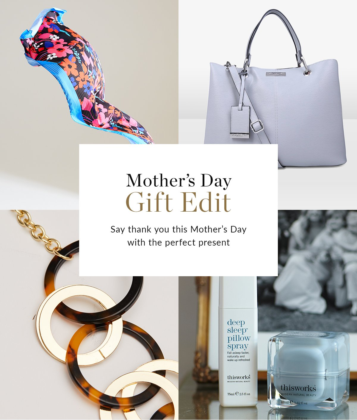 Mother's Day Gift Edit | Say thank you this Mother's Day with the perfect present