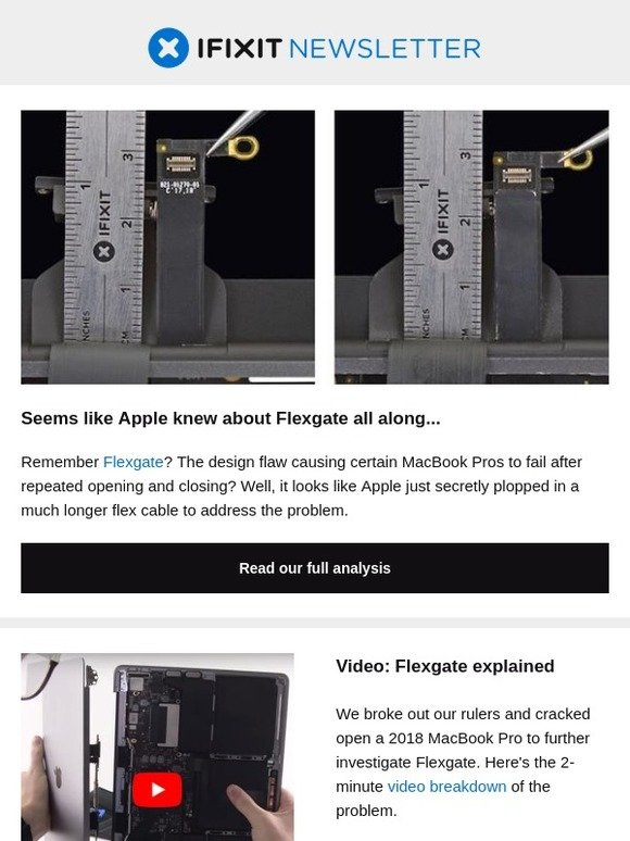iFixit: Did Apple try to cover up Flexgate? | Milled