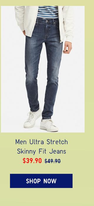 MEN ULTRA STRETCH SKINNY FIT JEANS $39.90 - SHOP MEN