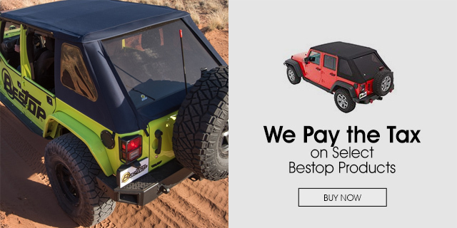 We Pay Your Sales Tax on Bestop