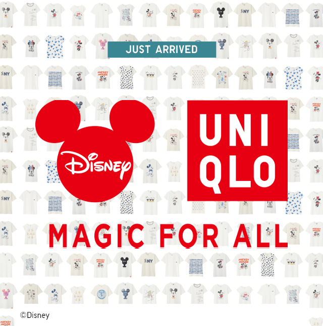 DISNEY + UNIQLO MAGIC FOR ALL