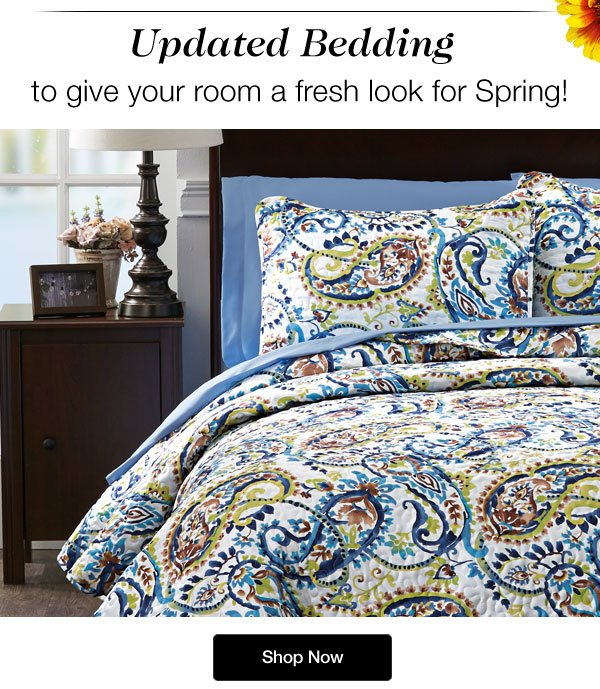 Shop our Updated Spring Bedding!