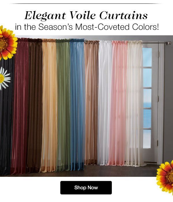 Shop our Voile in Updated Colors!