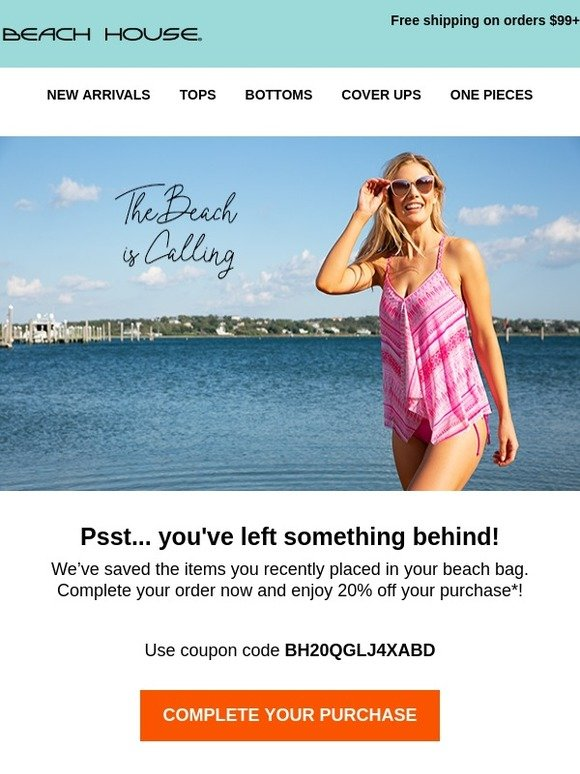 683ea8e1936 Beach House Swimwear: 20% Off Just for YOU! | Milled