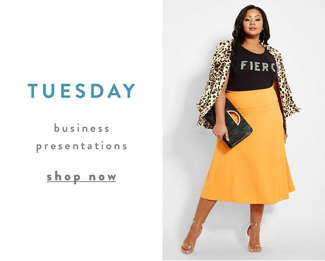 Business Presentation - Shop Now