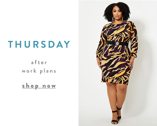 After work plans - Shop Now