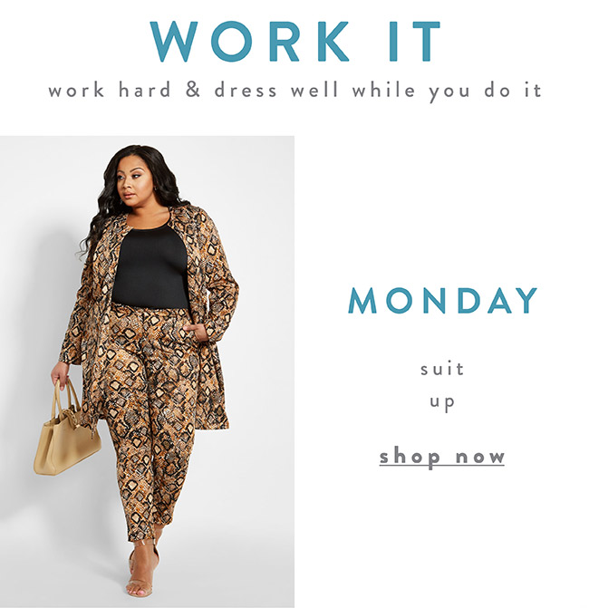Work hard and dress well while you do it - Shop Sale