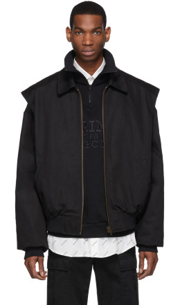 Balenciaga - Black Twin-Set Jacket