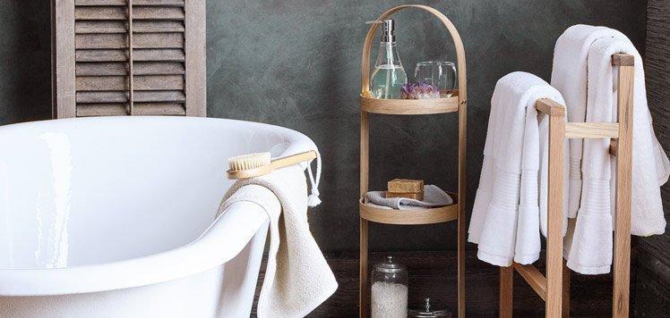 The Wood & White Bathroom