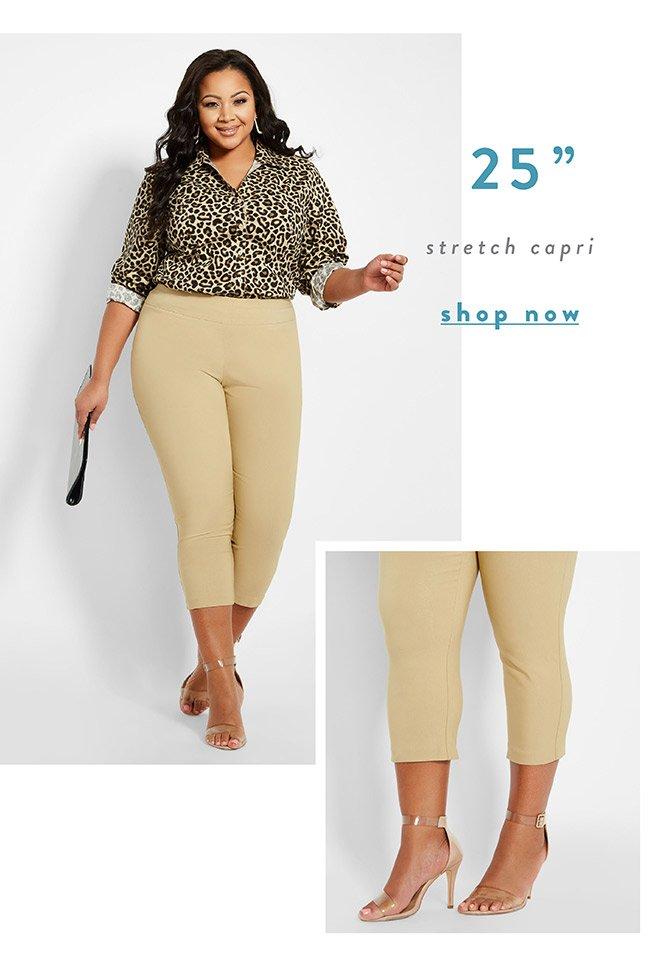 Stretch Capris - Shop Now