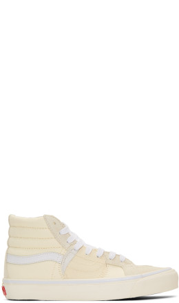Vans - Off-White Sk8-Hi Bricolage Sneakers