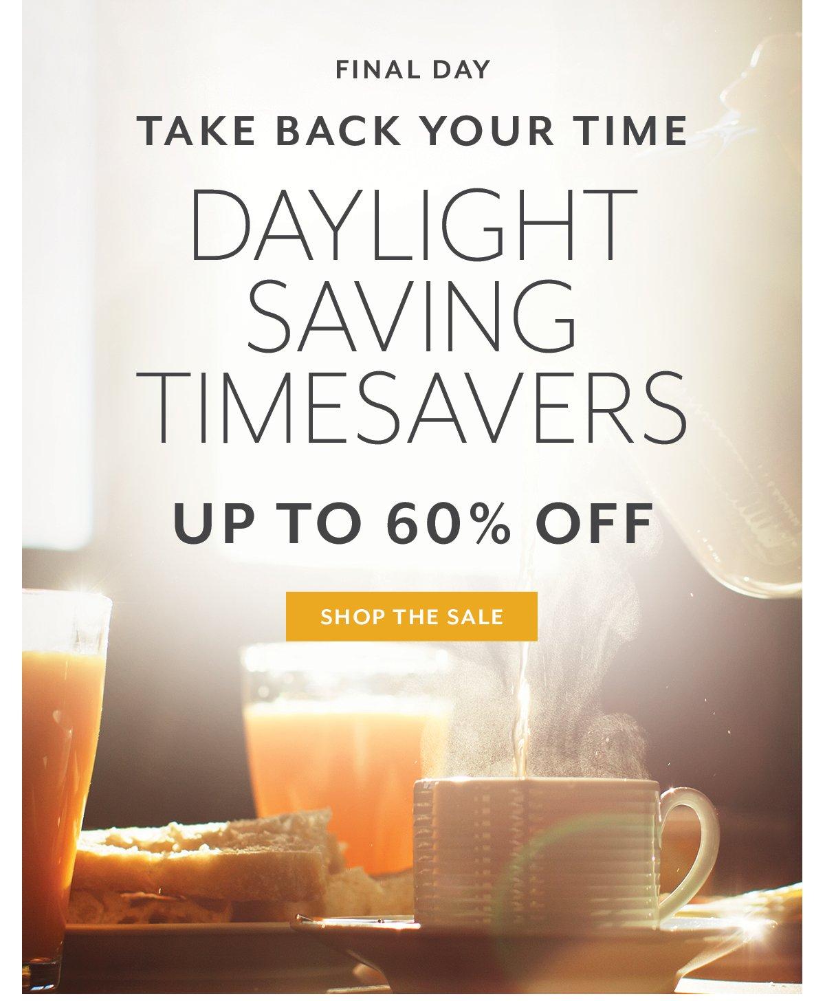 Time Saving Event